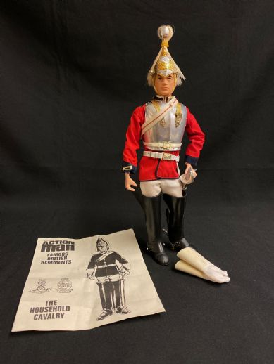 ACTION MAN - VINTAGE ACTION MAN - LIFE GUARD with Breast Plate Armour